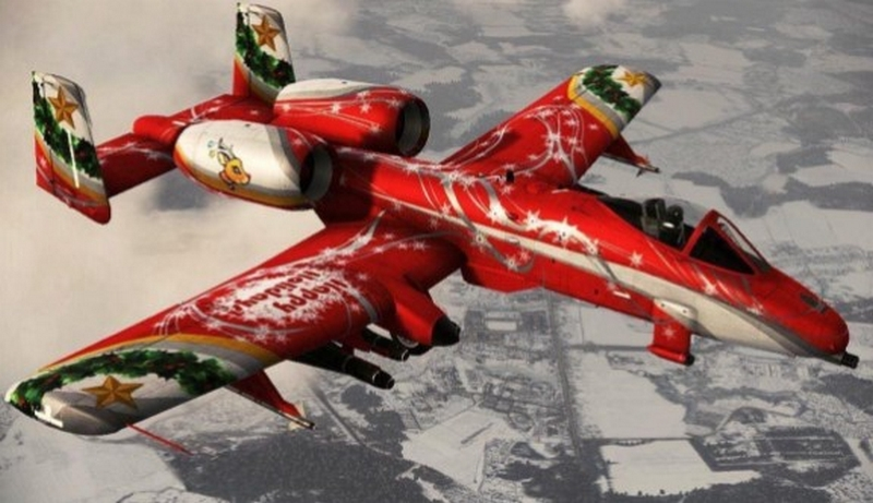 Holiday Cheer From Above