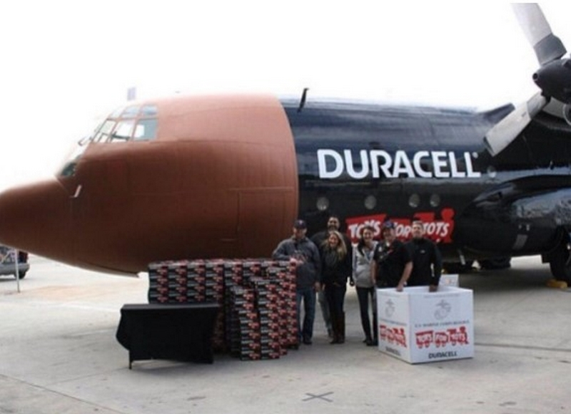 The Duracell Plane