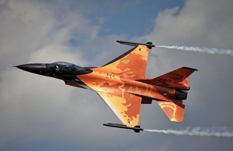 Royal Netherlands F 16 Fighter Jet
