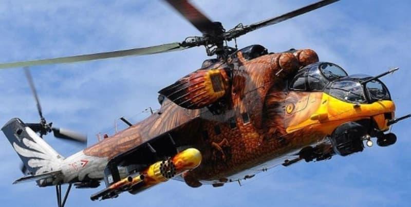 Hungarian Air Force Mi 24V Hind