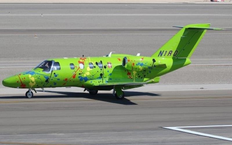 Jackson Pollocks Plane